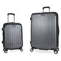 Kenneth Cole Reaction Hardside 2 piece Spinner Luggage - $99 with 10 yr warranty