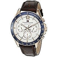 Tommy Hilfiger Men's ... Sophisticated Sport Watch with Brown Leather Band $  38 feet @ amazon