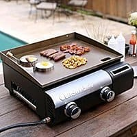 Cuisinart CGG-501 Gourmet Two Burner Gas Griddle $  99.98 fs @ amazon