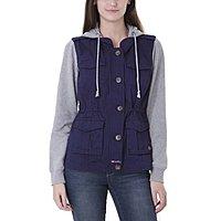 U.S. Polo Assoc Extra 10% off Clearance: Women's Anorak Jacket $  20, Men's Zip Fleece Hoodie $  16, Boys L/S Oxford $  10 + Free S/H