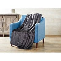 Walmart: Better Homes and Gardens Velvet Plush Metallic Throw Blanket $5 - Various Colors + free store pick up