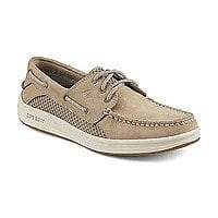 Sperry Men's Gamefish 3-Eye Boat Shoe $38.99 Linen Color, $40.99 Dark Tan + Free Shipping