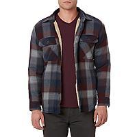 Outdoor Life Men's Flannel Shirt Jacket-Plaid $  18.27