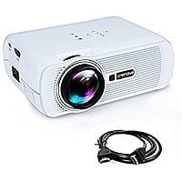 Free HDMI Support Crenova XPE460 LED Home Video Projector $  59.99 AC+FS With Prime