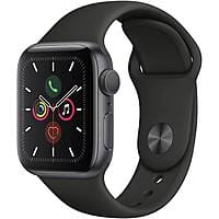 Apple Watch Series 5 40 mm and 44 mm $299 and $329 / Cellular also $399 and $429