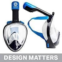 Wildhorn Outfitters - Seaview 180° GoPro Compatible Snorkel Mask $  49.99 Amazon Deal of the Day