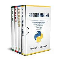 Programming: 4 Manuscripts in 1 book : Python For Beginners - Python 3 Guide - Learn Java - Excel 2016 Kindle Edition FREE Image