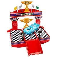 Add-on Item: Disney/Pixar Cars Wheel Action Drivers Race & Win Playset $  3.76 ~ Amazon