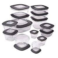 28-Piece Rubbermaid Premier Food Storage Containers (Grey) $  24.41 + Free S&H w/ Prime or orders $  25+