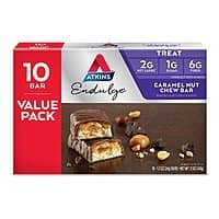 20-Count Atkins Endulge Treat Bars (Caramel Nut Chew) $  10.54 or Less w/ S&S + Free Shipping ~ Amazon