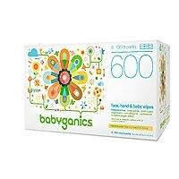 Prime Members: 600-Count Babyganics Face, Hand & Baby Wipes (Fragrance Free) $12.96 or Less w/ S&S + Free Shipping ~ Amazon