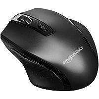 AmazonBasics Ergonomic Wireless Mouse w/ Adjustable DPI (Black) $5.43 + Free S&H w/ Prime or orders $25+ ~ Amazon