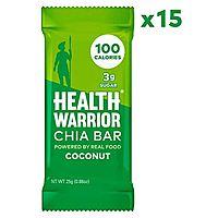 15-Count Health Warrior Chia Bars: Coconut $7.25, Dark Chocolate or Banana Nut $7.37 or Less w/ S&S + Free S&S ~ Amazon