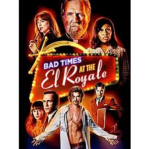 4K UHD Digital Films: Bad Times at The El Royale, Predator, Predator 2, Alien $5 Each & More