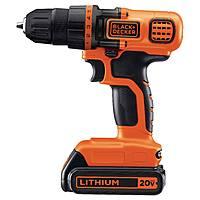 BLACK+DECKER⢠20V MAX* Lithium Drill/Driver Kit (Orange w/ Black) - LDX120C $  49.49@target.