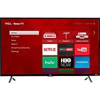 "TCL 49S405 49""  LED 4K UHD TV with HDR and Roku (2017) - $  300 Best Buy and Amazon $  299.99"
