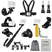 Sametop 11 in 1 Accessories Bundle Kit for GoPro Hero Cameras $  18.80 free shipping w/Amazon Prime