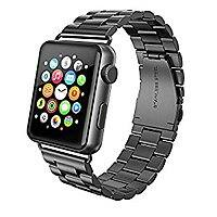 Swees Solid Stainless Steel Link Bracelet Metal iWatch Replacement Strap for 42mm Apple Watch All Models ($  11.99 shipped w/Amazon Prime)