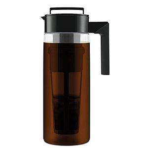 Takeya Cold Brew Coffee Maker 2 Quart Black $16.98 Amazon