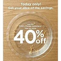 Kohl's Mystery Savings Coupon in email: up to 40% off  - 11/17 only --- YMMV