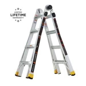 Gorilla Ladders 18' Multiposition for $129 - save $70 at Home depot