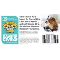 Dr.  Elsey's Cat Litter: Printable $3 Off Coupon (PDF)