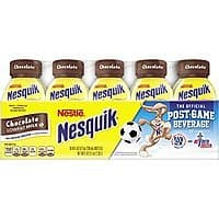 Nesquik Ready To Drink Milk, Chocolate, 8 Ounce., 10 Count $  6.06