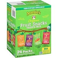 Annie's Organic Bunny Fruit Snacks, Variety Pack, 24 Pouches, 0.8 oz Each [19.2 Ounce] $  10.17