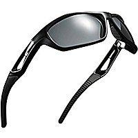 Polarized Sports Sunglasses for $8.99 at Amazon