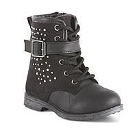 CRB Girl Toddler Girls' Leia Black Embellished Fashion Boot $8.96 + ship