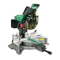$159.99 +F/S Hitachi (certified refurbished) C12FDH 12 in. Dual Bevel Miter Saw with Laser Guide