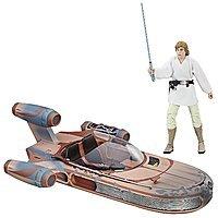 Star Wars The Black Series Luke Skywalker Landspeeder & Figure $20 @ Amazon
