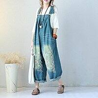 Women's Denim Wide Leg Jumpsuits $  39, 17% OFF, additional $  5 discount on first order $  39.99
