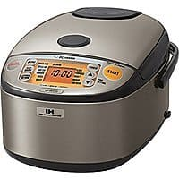 Zojirushi Induction 5.5-Cup Rice Cooker NP-HCC10XH $201.48 @ Amazon
