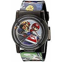 Nintendo Kids' NMK3403 Digital Display Analog Quartz Multi-Color Watch $2