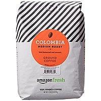 Amazon Brand - AmazonFresh Colombia Ground Coffee, Medium Roast, 32 Ounce $6.97 & More w/ S&S + Free S/H