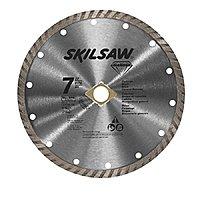 """Skilsaw 7"""" Masonry Turbo Rim Diamond Blade $  3.74 (75% off @ Lowes)"""
