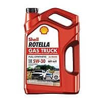 Shell Rotella Gas Truck 5W30 Full Synthetic Oil 5 qt. $8