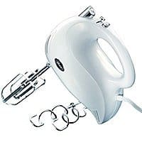 Add-on item Oster 2500 Inspire 240-Watt 5-Speed Hand Mixer, White $9.06