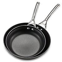 "Calphalon Contemporary Nonstick 10"" & 12"" Fry Pan Set $29+shipping or free pick up"