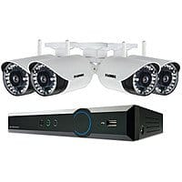 Lorex by FLIR Wireless 4-Channel 720p DVR with 1TB HDD and 4 720p Outdoor Bullet Cameras $  249.95 @ B&H Photo w/ Free Shipping
