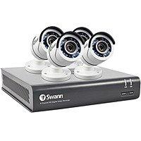 Swann DVR-4590 8 Channel 3MP Super HD Digital Video Recorder & 4 x PRO-T857 Cameras $199.95 @ B&H Photo w/ Free Shipping