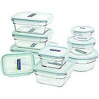 Glasslock 18-Piece Assorted Oven Safe Container Set  $  34.14 + Free shipping