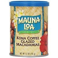 Mauna Loa Macadamias, Dry Roasted with Sea Salt, 4.5 Ounce Container $  4.73 Or Less With S&S