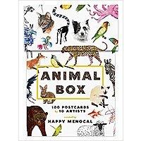 Animal Box: 100 Postcards by 10 Artists. $  4.98 + FS w/Prime