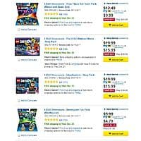 Various Lego Dimensions On Sale @ Bestbuy - From $  5.99