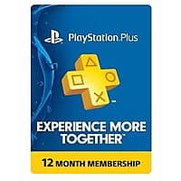 Sony PlayStation Plus 1 Year Membership Subscription Card $39.99 + FS (eBay Daily Deal)