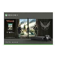 Xbox One X 1TB Console - Tom Clancy's The Division 2 Bundle. $305 + FS (eBay Daily Deal)