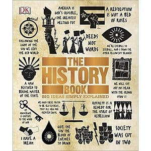 The History Book: Big Ideas Simply Explained (Kindle eBook) $2