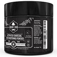Organic Sage Coconut Charcoal Teeth Whitening Toothpaste for @Amazon for $  8.07